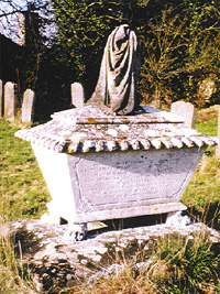 Photographs of gravestones